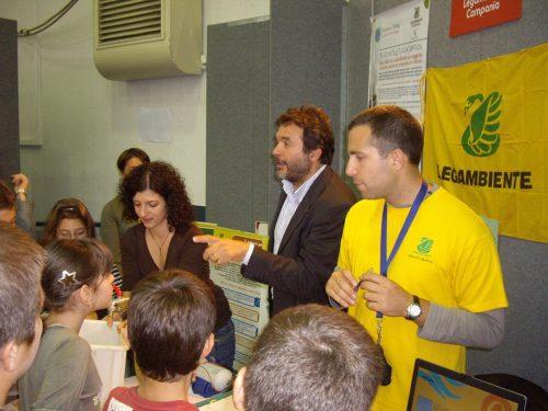 Expo Scuola 2008 con Legambiente