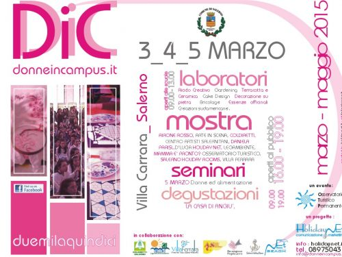 Donne in Campus 2015