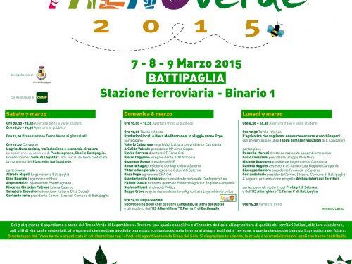 Treno Verde 2015 a Battipaglia