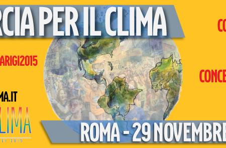 Da Salerno per la Marcia Globale sul Clima