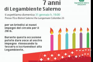7 anni di Legambiente Salerno