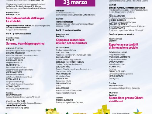 Treno Verde 2016 a Salerno