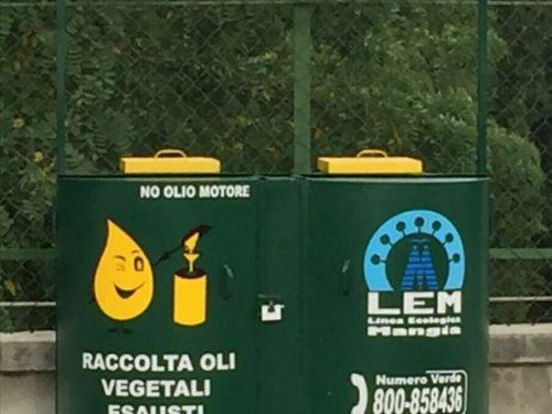 A Salerno il progetto per la raccolta di quartiere degli olii esausti