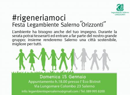 """Festa Legambiente Salerno """"Orizzonti"""" 2017"""