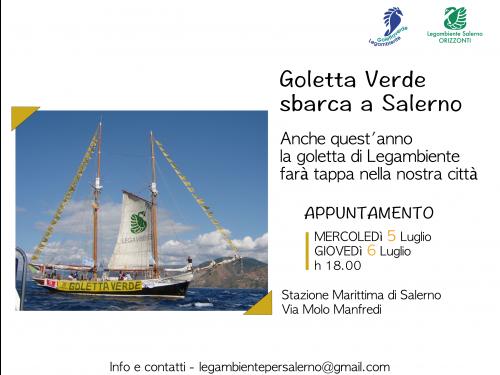 Goletta Verde 2017 a Salerno
