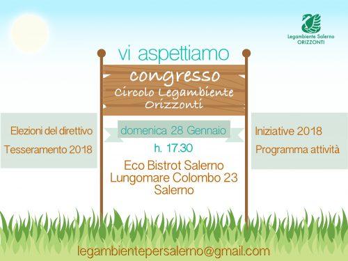Congresso e 9° festa Circolo Legambiente Salerno