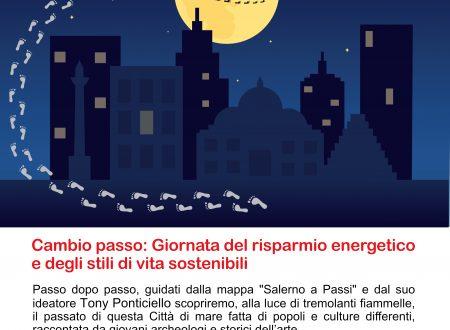 """M'Illumino di meno 2018 """"Cambio passo"""""""