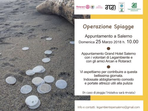 Operazione spiagge #cacciaaldischetto