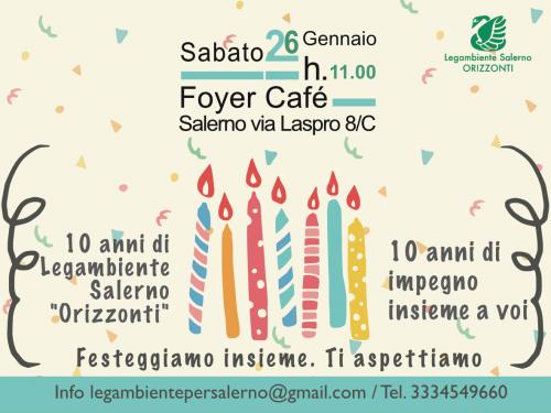 """10 anni di Legambiente Salerno """"Orizzonti"""""""