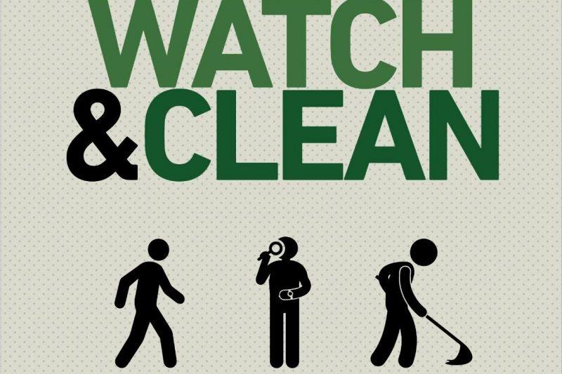 """A Salerno """"Walk, Watch Clean"""""""
