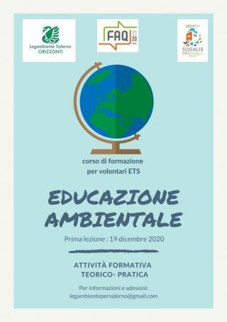 corso gratuito educazione ambientale legambiente salerno csv